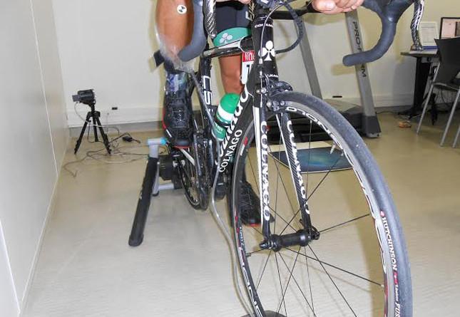 Analyse posturale sur vélo